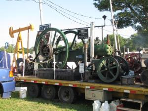 This 1907 steam engine operated an oil well pump.