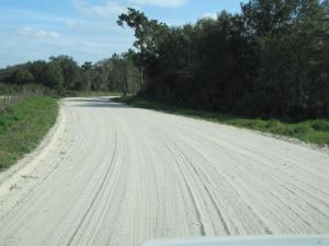 Good ol' fashioned gravel roads
