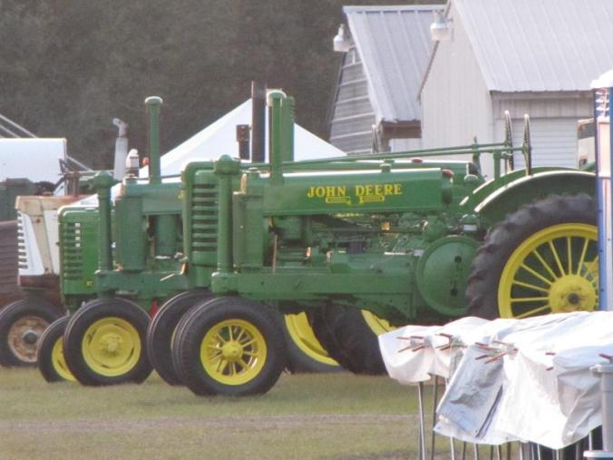 Going to see a lot of John Deere vintage tractors this week