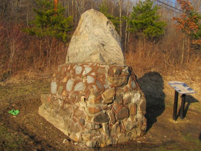 The Eagles Nest monument