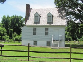 This plantation home was the Union Headquarters and was shot to pieces during the battle