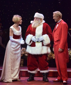 Deb, Kenny and Santa