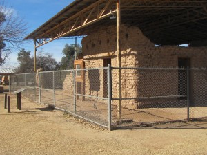 The old fort hospital ruins