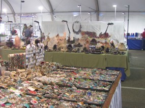 Tons of jewelry, beads and other neat stuff