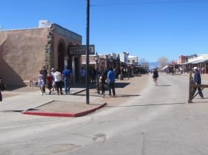 Main street blocked off