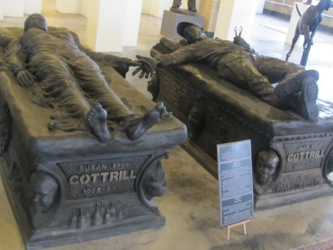 The Cottrill sarcophagi