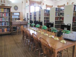 Willard Library reading room