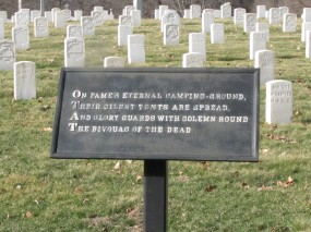 National Cemetery, Union Soldiers