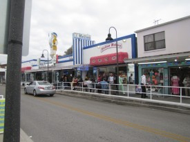 Hellas Restaurant and Bakery storefronts